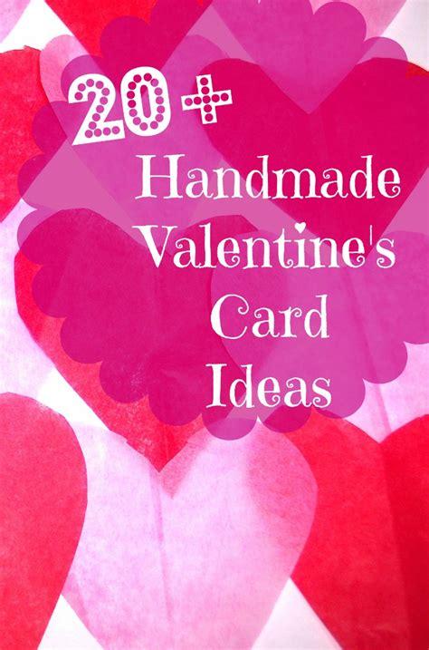 valentines day card ideas 20 handmade s day card ideas bargainbriana