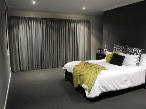 green walls grey curtains lighting ideas for your and convenient room