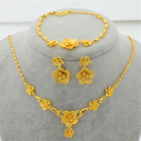 how to make gold plated jewelry aliexpress buy new trendy 22k gold plated jewelry