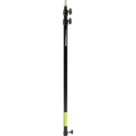 landscape lighting extension pole manfrotto 3 section extension pole 35 92 quot black 099b