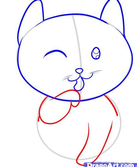 cat step step how to draw cats cats for to draw