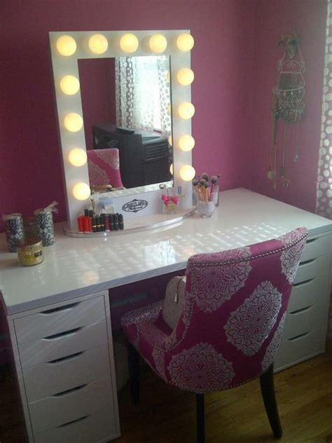 lighted sets furniture lighted makeup vanity table set home design