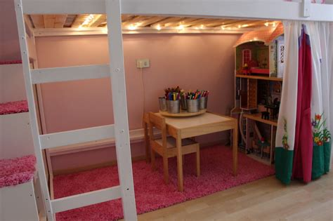 loft bed for mydal loftbed with play area for s room ikea