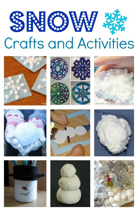 crafts and activities for winter themed crafts