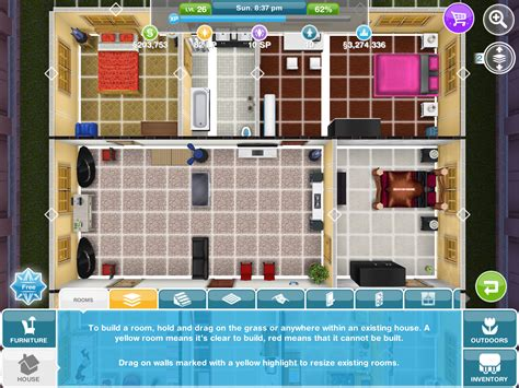 sims freeplay house floor plans sims freeplay house floor plans house plans