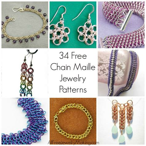 all free jewelry how to make bracelets 10 chain maille patterns