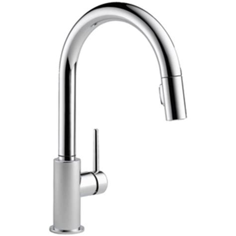 ferguson faucets kitchen d9159dst trinsic pull out spray kitchen faucet chrome at shop ferguson