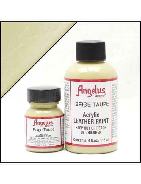angelus paint stores angelus dyes paint beige 1oz leather paint leather
