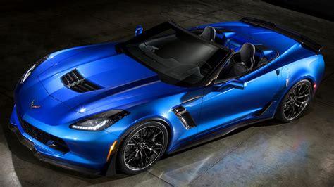 Car Wallpaper Blue by New Chevrolet Corvette Z06 Convertible Blue Car Hd