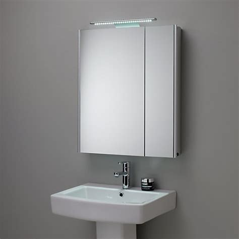 illuminated mirrored bathroom cabinets buy roper refine illuminated mirrored