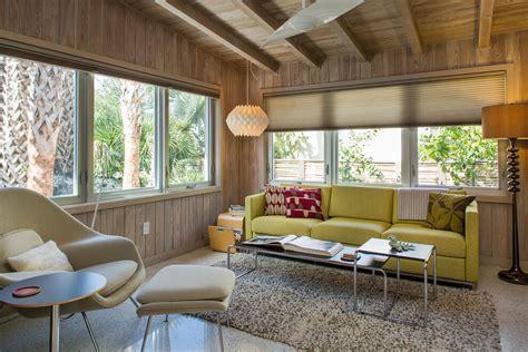 mid century modern home interiors tastefully decorated modern home with mid century