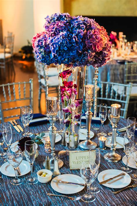 blue and silver centerpieces blue pink silver centerpiece elizabeth designs the