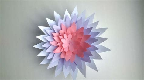 crafts made out of paper how to make a flower out of paper diy crafts tutorial