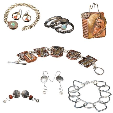 beginning jewelry kit metalworking 101 supply kit in sterling silver wire