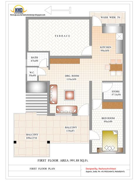 house floor plans india contemporary india house plan 2185 sq ft kerala home