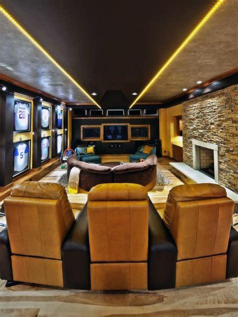 sports themed basement ideas 70 home basement design ideas for masculine retreats