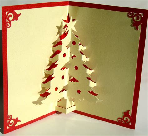 how to make a tree card tree pop up up greeting card home d 233 cor 3d handmade