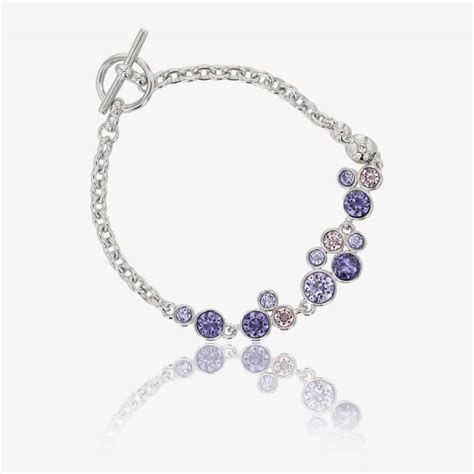 with swarovski crystals stunning stephania bracelet made with swarovski 174 crystals