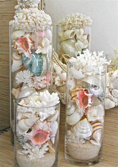 seashell decorations decorating with sea corals 34 stylish ideas digsdigs
