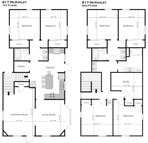 simple floor plan with dimensions floor plan with dimensions bedroom house floor plans with