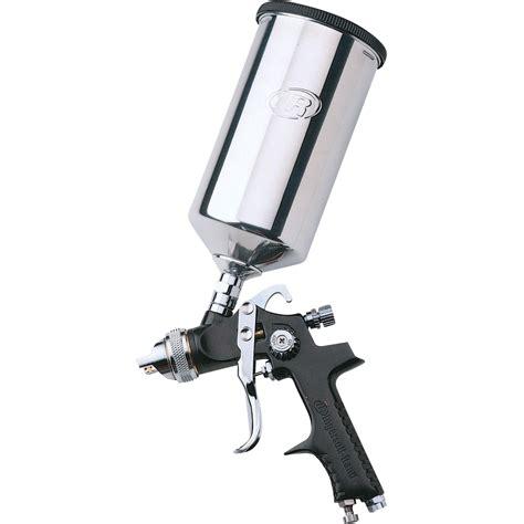 spray painting a gun ingersoll rand hvlp gravity feed spray gun item 270g