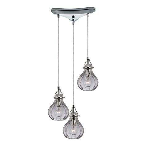 multi pendant ceiling light elk 46014 3 danica modern polished chrome multi ceiling