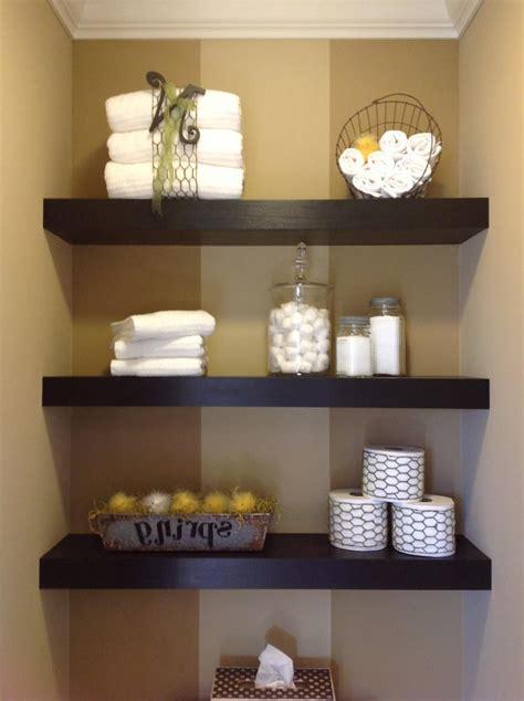 wooden shelves for bathroom floating white bathroom shelves wooden framed mirror wall