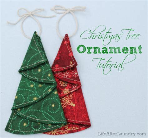 tree ornaments 22 farbic ornament tutorials