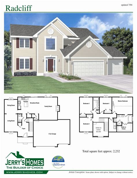 4 story house plans luxury 4 bedroom 2 story house floor plans new home plans design