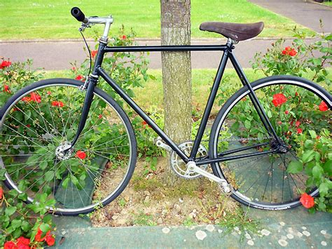 single speed gitane black mat fixie singlespeed infos v 233 lo fixie pignon fixe singlespeed
