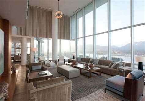Modern Interior Designer contemporary penthouse interior design in vancouver by