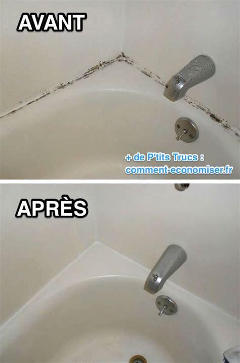 l astuce incroyable pour enlever la moisissure sur les joints de baignoire