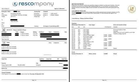 custom reports rescompany systems ltd