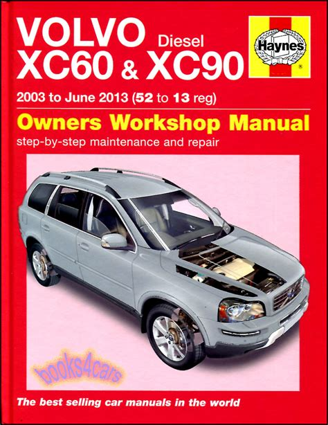 volvo xc60 xc90 shop manual service repair book haynes chilton workshop awd b08 5630 for sale
