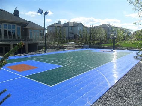 backyard sport courts sport court courts home court sports courts