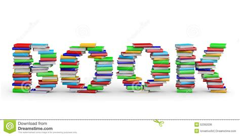 picture word book book word from books stock illustration image of many