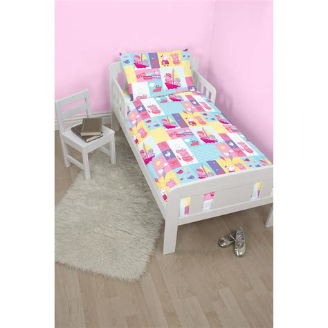 george pig toddler bed set toddler bed duvet set 28 images new boys junior cot