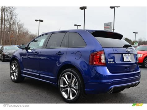 2013 Ford Edge Sport by Impact Blue Metallic 2013 Ford Edge Sport Exterior