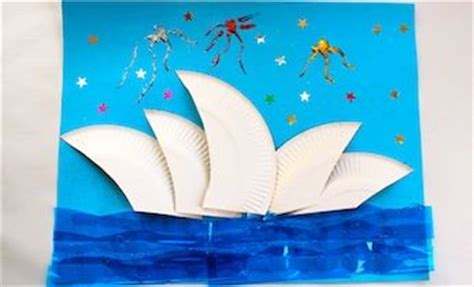 australia day crafts for crafts the sydney opera house australia day