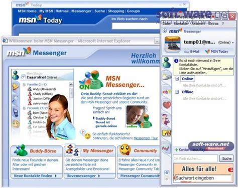 www msn msn messenger 7 5 windows bei soft
