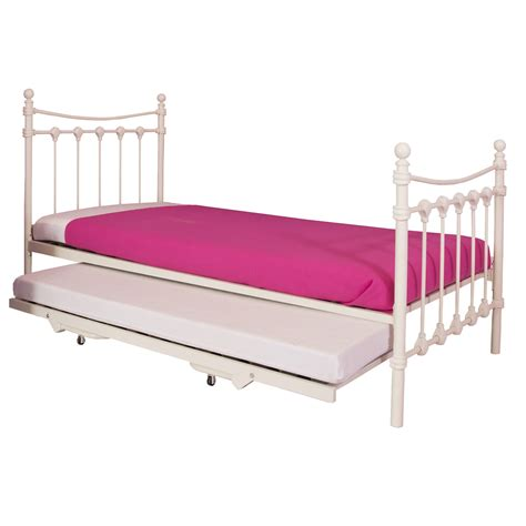 trundle bed metal frame santa fe metal bed frame with trundle next day delivery