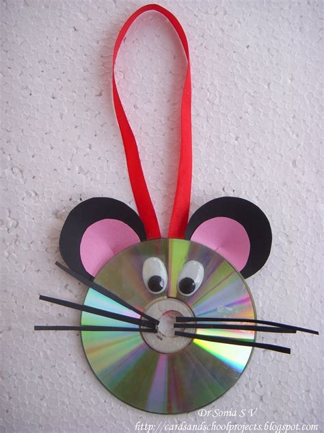 Cards Crafts Projects Recycled Cd Craft