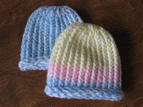 loom knit newborn hat kelley s yarns lickety split loom knit newborn hats