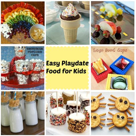 food for a best kid food ideas for a playdate stylish for