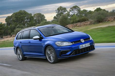 2018 volkswagen golf r 7 5 hatch and wagon prices revealed