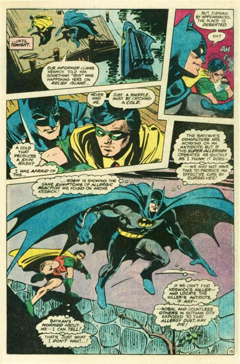 batman comic book pictures bronzeage