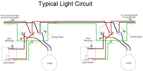 lights circuit home electrics light circuit