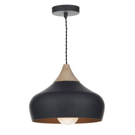small pendant ceiling lights gau0122 gaucho pendant dar matt black ceiling light wood
