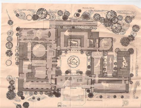 california academy of sciences floor plan less 286 floor plan from california academy of science