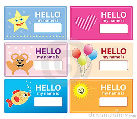 card for children children name cards